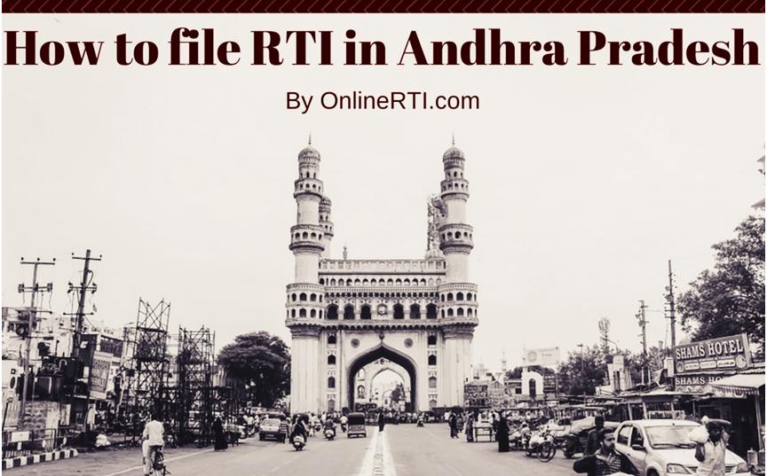 RTI Online Andhra Pradesh - Read Complete Guide - OnlineRTI com