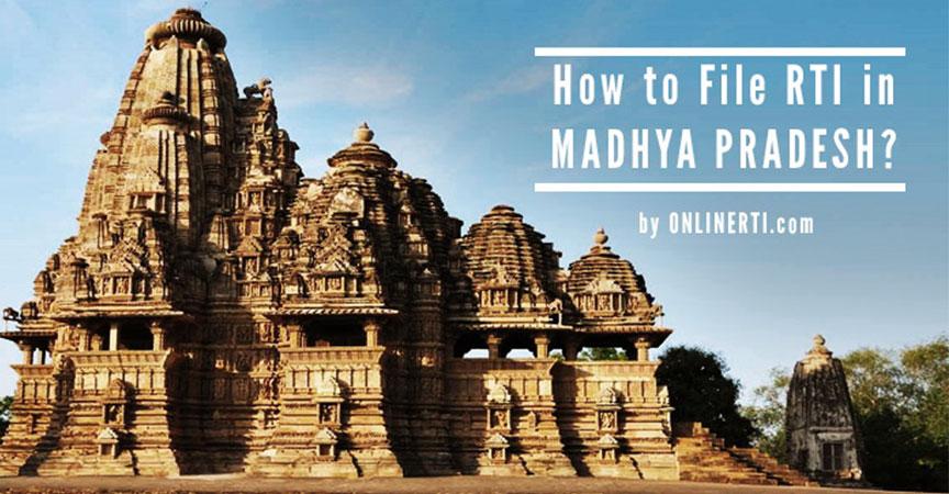 File RTI Madhya Pradesh Online in Simple Steps-RTI Guide@OnlineRTI
