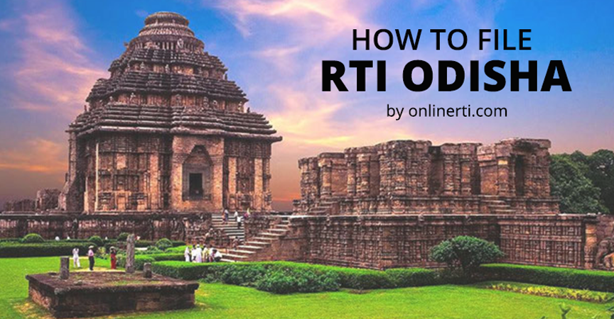 RTI for Odisha