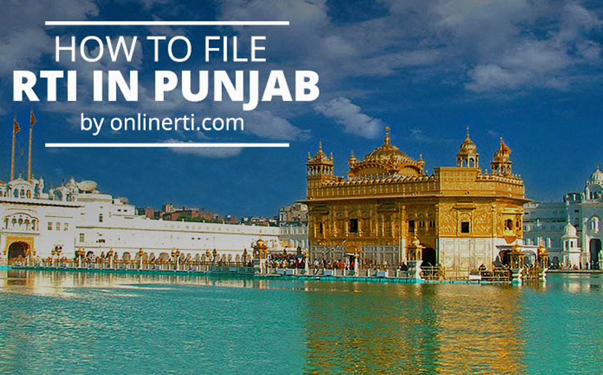 File RTI Punjab Online in Simple Steps-RTI Guide@OnlineRTI com