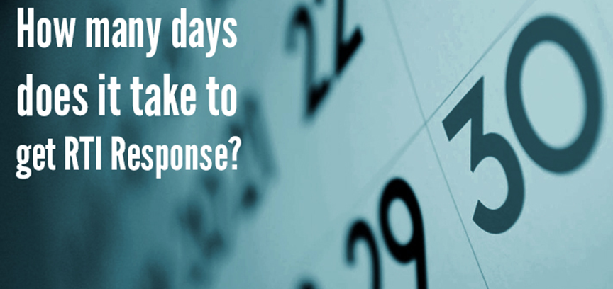 How many days does it take to get RTI response